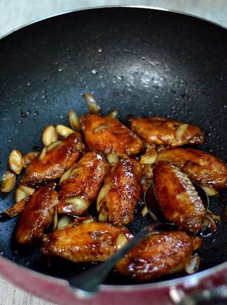 百合梅酱煎鸡翅