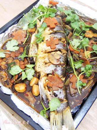 豉汁烤鱼的做法