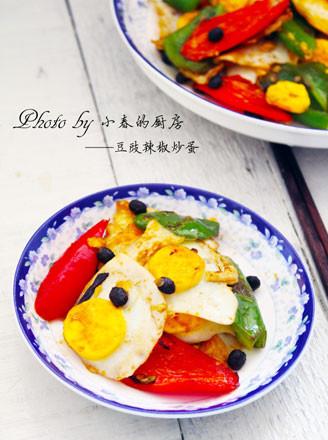 豆豉辣椒炒蛋的做法