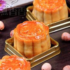 手工莲蓉蛋黄月饼