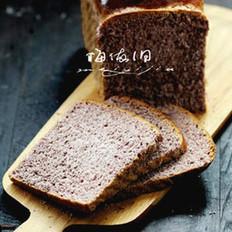 黑米吐司面包