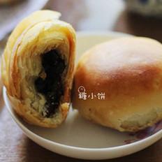 梅干菜肉酥皮月饼