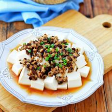 芽菜肉末蒸豆腐