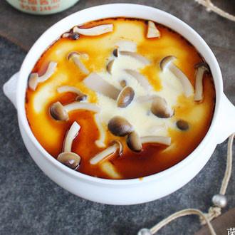 菌菇蒸水蛋