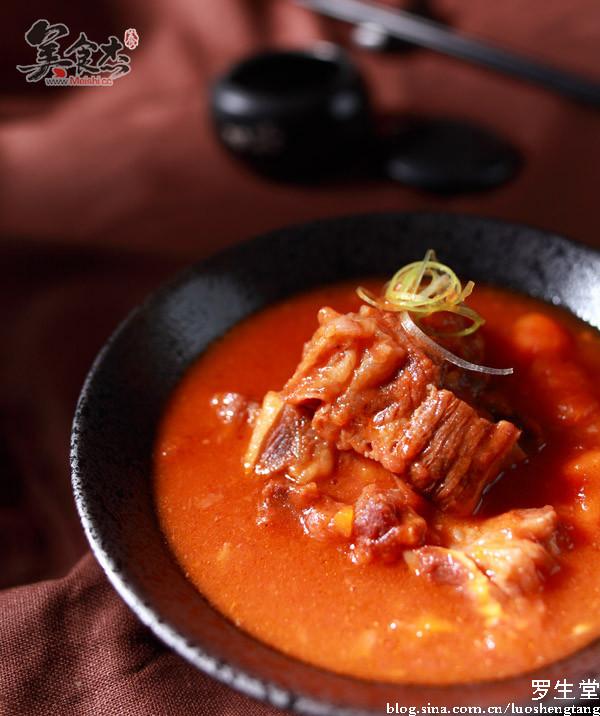 西红柿牛腩的做法【步骤图】_菜谱_美食杰