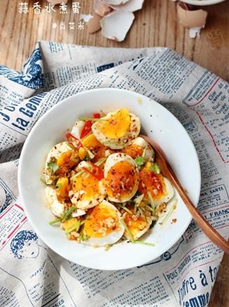 蒜香水煮蛋
