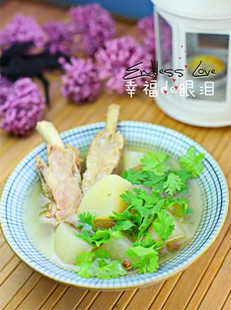 萝卜羊排汤