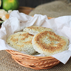 豆沙糯米麻饼