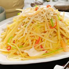 简单食材巧处理,让土豆丝变美