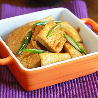 大葱烧豆腐