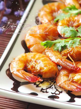 家常红焖大虾的做法