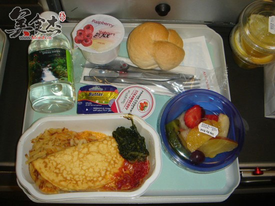 世界各地飞机餐,有配图呦