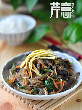 韩式杂菜的做法