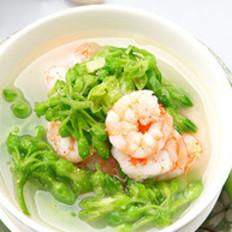 虾仁九里香汤