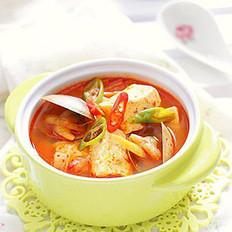 韩式辣豆腐汤
