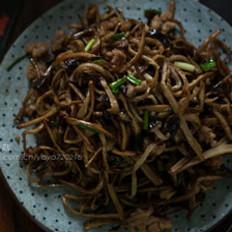 香炸肉末茶树菇