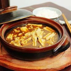 砂锅腐竹煲