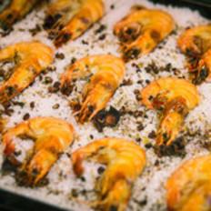 意式盐焗大虾