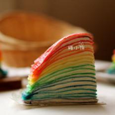 彩虹可丽饼千层