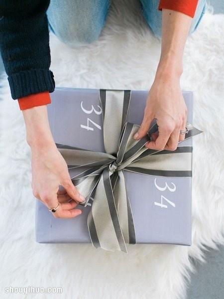 【图解】如何用丝带包装礼盒LV.jpg