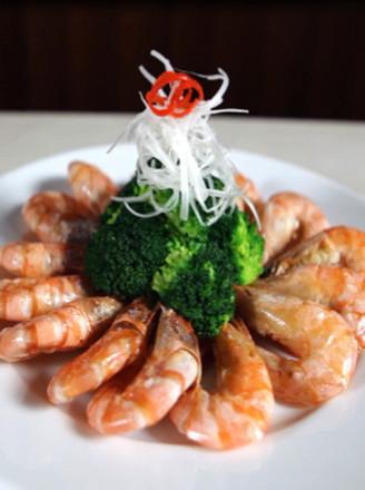 微波烤海捕虾的做法