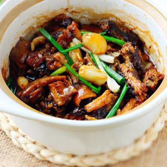 砂锅蒜子鳝鱼