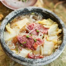 白菜牛肉粉絲