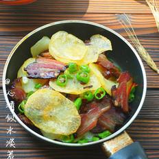 腊香干锅土豆片