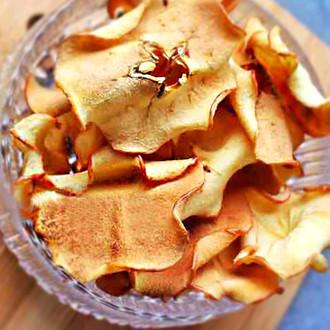 香烤苹果脆片