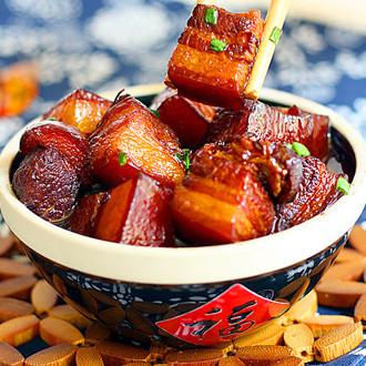 快速电饭锅版东坡肉