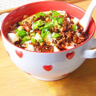 红油豆腐脑