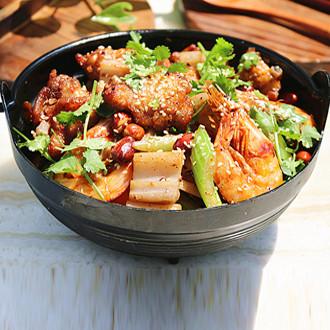 干锅鸡翅虾