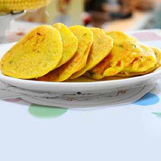 香嫩玉米饼