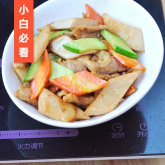 杏鲍菇熘肉片