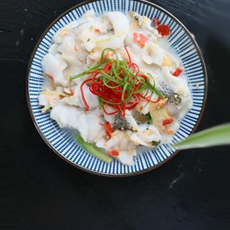 剁椒蒸鲈鱼片