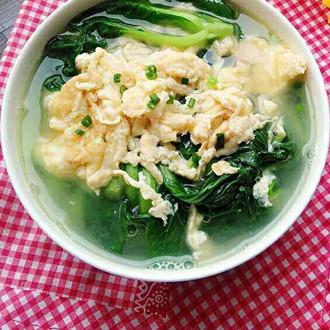 小白菜鸡蛋汤