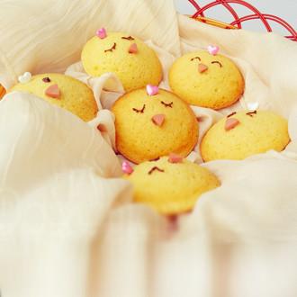 萌鸡奶香小蛋糕
