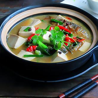 小鱼炖豆腐
