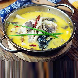 菌菇鱼头汤