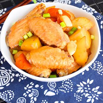 酱香土豆炖鸡翅