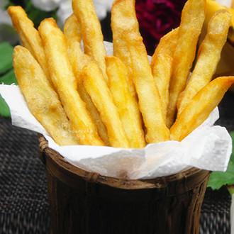 酥脆白薯条