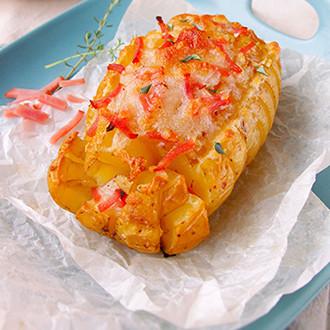 焗烤马铃薯花