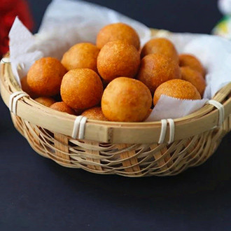 甜蜜红薯球