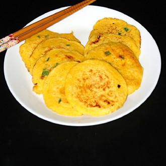 葱香黄金早餐饼