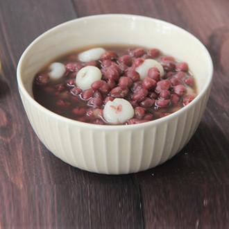 糯米圈圈红豆汤
