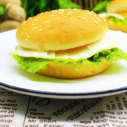 简单|煎蛋汉堡