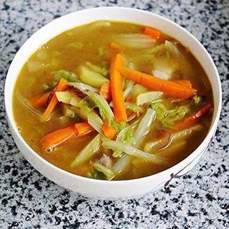 白菜胡萝卜汤