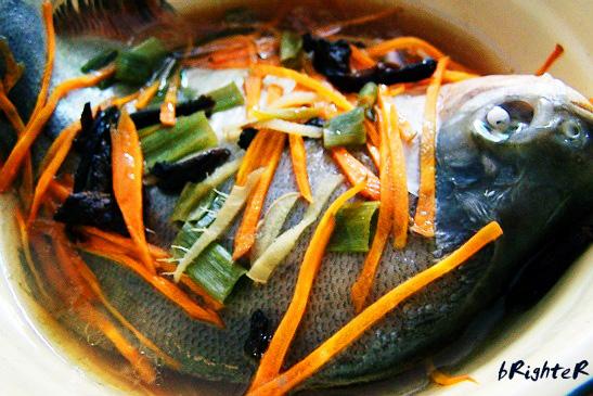diyv步骤白步骤的鲳鱼【河蟹图】_做法_美食杰手术可不可以吃菜谱