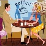 """饮个咖啡""""下午茶"""""""