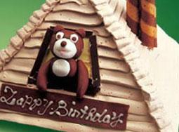 超级可爱的卡通生日蛋糕